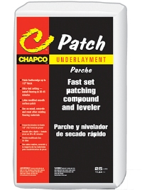 CHAPCO C-PATCH 25# BAG FLOOR PATCH & LEVELER