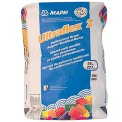 MAPEI ULTRAFLEX 2 50# GRAY PROFESSIONAL TILE MORTAR