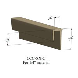 JOHN CCC-40-C 12' BLACK 1/4
