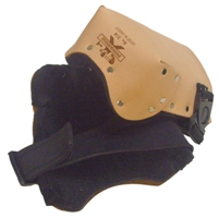 POWERHOLD 314 LEATHER KNEE PAD NEO STRAP & SWIVEL