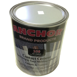 ANCHOR 250 GALLON FLAMABLE CONTACT CEMENT