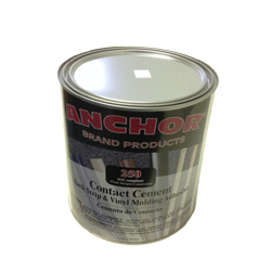 ANCHOR 250 QUART FLAMABLE CONTACT CEMENT