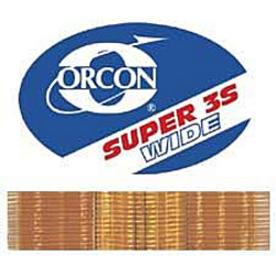 """ORCON SUPER 3S WIDE 22yd ROLL 6"""" FLAT HOT MELT TAPE"""