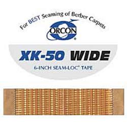 ORCON XK-50 WIDE 22yd ROLL SEAM LOK KNIT SCRIM HOT MELT TAPE