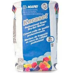MAPEI KERASET 50# WHITE DRY SET MORTAR FLOOR/WALL (KER-123)