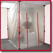 SURFACE SHIELD DSPKIT DUST DS PRO CONTAINMENT KIT 4 POLES 1 ZA02 & CARRYING BAG