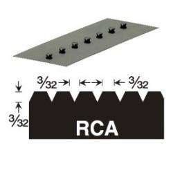 GUNDLACH 680-RCA 3/32x3/32x3/32 V VERSABLADE TROWEL BLADE