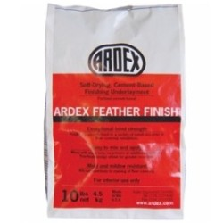 ARDEX SD-F 10# GRAY FEATHER FINISH SELF DRYING CEMENT UNDERLAYMENT