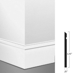 "JOHN MW-80-F FAWN 64 MILLWORK 4.25"" REVEAL WALL BASE"