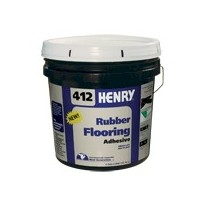 HENRY 412 4G PAIL RUBBER FLOORING ADHESIVE