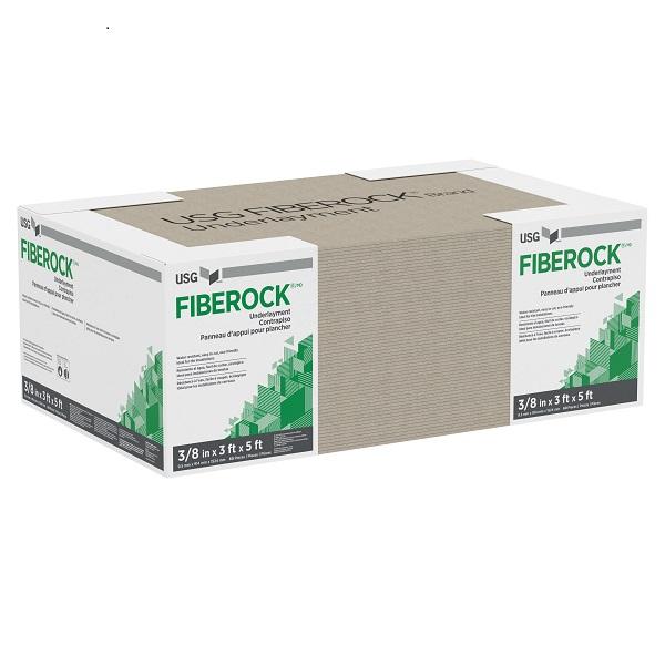 "USG 5/8"" FIBEROCK 4x8 SHEET UNDERLAYMENT BOARD"
