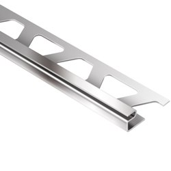 """SCHLUTER E80D DECO 1/4"""" WIDE REVEAL 5/16"""" STAINLESS STEEL"""