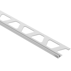 "SCHLUTER A45-PG JOLLY EDGE TRIM 3/16"" ALUMINUM COATED CLASSIC GREY"