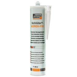 SCHLUTER KERDIFIX/BW BRIGHT WHITE KERDI-FIX SEALING COMPOUND 290ml