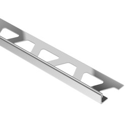 "SCHLUTER E125 SCHIENE EDGE TRIM 1/2"" STAINLESS STEEL"