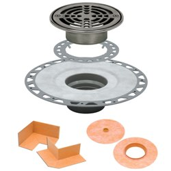 SCHLUTER KD2/PVC/6RE KERDI-DRAIN KIT 2
