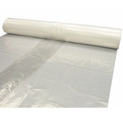 POLY FILM 6mil 12'x100' CLEAR PLASTIC