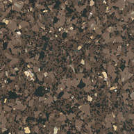 "AZR AT-113 BROWN EARTH 45sft 12"" AZTERRA VET TILE"