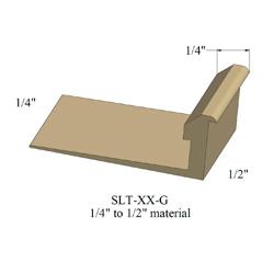 JOHN SLTC-47-G 12' BROWN 1/2