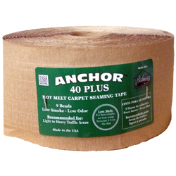 ANCHOR 40 PLUS GREEN 22yd HEAT SEAM TAPE