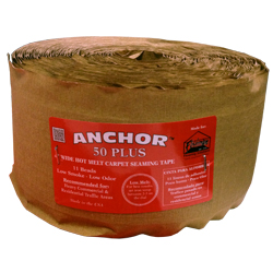ANCHOR 50 PLUS RED 22yd HEAT SEAM TAPE