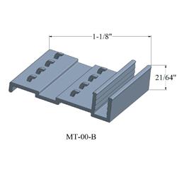 JOHN MT-00-B 12' METAL PINTYPE METAL TRACK