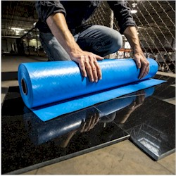 "SURFACE SHIELDS CVR1036100 ROLL COVER SHIELD 10mil 36""x100 FLAME RETARDENT SURFACE PROTECTION (BLUE)"