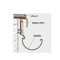 SCHLUTER BSR4-ADN60-BW BARIN-SR ALUMINUM COUPLING SET 7-7/8