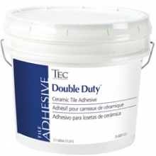 TEC 122-06 3.5G PAIL DOUBLE DUTY CERAMIC TILE ADHESIVE TYPES I & II