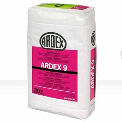 ARDEX 9 GRAY 27lb POWDER COMMERCIAL SIZE WATERPROOFING AND CRACK GRAY ISOLATION COMPOUND (REQUIRES LIQUID & POWDER)