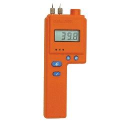 DELMHORST J-2000W/PKG WOOD MOISTURE METER w/PKG PACKAGE: DELUXE CASE, 26-ES HAMMER, (10) 496 CONTACT PINS