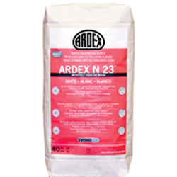 ARDEX N-23 MICROTEC #40 WHITE RAPID SET NATURAL STONE AND TILE MORTAR