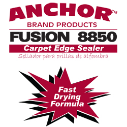 ANCHOR FUSION 8850 8oz CARPET EDGE SEALER WHITE ADHESIVE