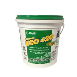 MAPEI ECO-420 GALLON LATEX BASED ALL WEATHER ADHESIVE