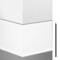 BURKE 2SL-317 2.5x4 080 TOELESS VINYL BASE GREIGE