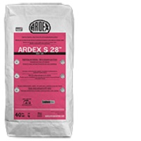 ARDEX S-28 MICROTEC #40 GRAY RAPID SET SUPER FORMAT TILE & UNCOUPLING MEMBRANE MORTAR