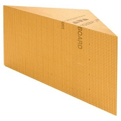 "SCHLUTER KBSB-610-TA KERDI-BOARD-SB 34""x 24"" HEIGHT 1 = 20"" HEIGHT 2 = 19-3/4"" TRIANGULAR"