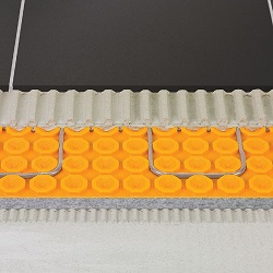 """SCHLUTER DHD-810-M DITRA-HEAT-DUO MEMBRANE ROLL 33""""x33 108sft"""