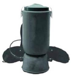 POWERHOLD HEPAPOWER 1206 DRY (ONLY) HEPA BACKPACK VACUUM - 6 QUART 1200 WATT -- 104 CFM