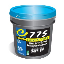 CHAPCO SS-775 4G PAIL CLEAR THIN SPREAD ADHESIVE