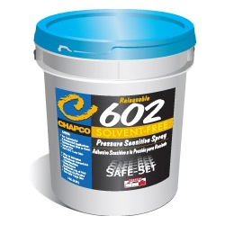 CHAPCO 602 5G PAIL SPRAYABLE PRESSURE SENSITIVE ADHESIVE