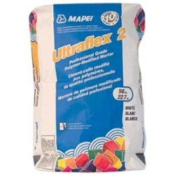 MAPEI ULTRAFLEX 2 50# WHITE PROFESSIONAL TILE MORTAR