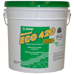 MAPEI ECO-420 4G PAIL LATEX BASED ALL WEATHER ADHESIVE