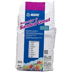 MAPEI KERACOLOR-S 25# COLOR 01 SANDED GROUT ALABASTER