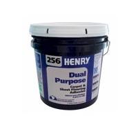 HENRY 256 4G PAIL DUAL-PURPOSE CARPET/SHEET GOODS ADHESIVE