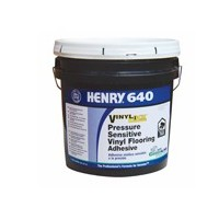 HENRY 640 GALLON VINYL-LOCK PRESSURE SENSITIVE ADHESIVE