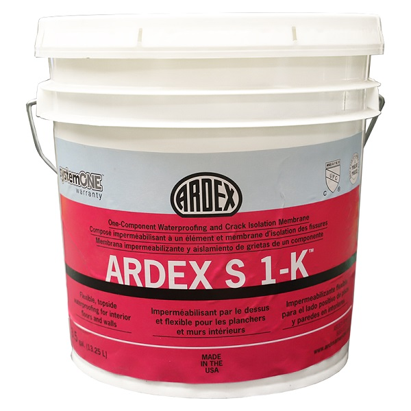 ARDEX S 1-K 3.5G ONE-COMPONENT WATERPROOFING COMPOUND
