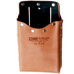 GUNDLACH 408 HARD-LINED LEATHER POUCH