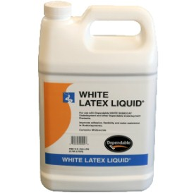 DEPENDABLE LATEX GALLON UNDERLAYMENT LIQUID