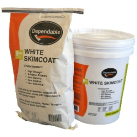 DEPENDABLE SKIMCOAT 25# BAG UNDERLAYMENT POWDER